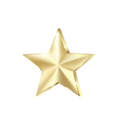 golden star scatter glitters shiny gold star with vector image