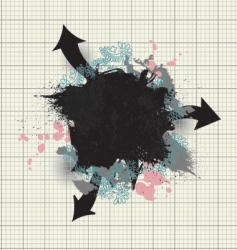 Grunge abstract vector
