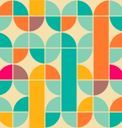 Retro pattern vector image