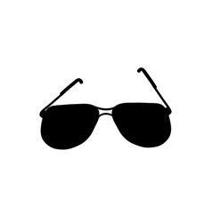 sunglasses icon isolated on white background vector image