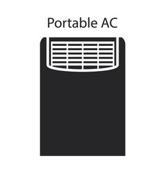 ventilation iconblack icon isolated vector image