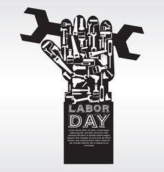 Labor Day Conceptual EPS10 vector image