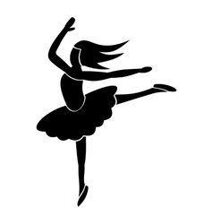 Best dance simple icon vector image
