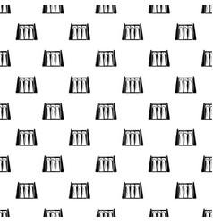 Dam pattern seamless vector