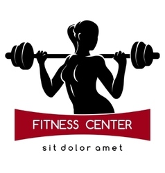 Fitness Center or Gym Logo vector