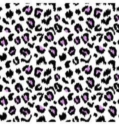 Leopard print seamless pattern texture vector image