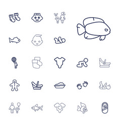 Little icons vector