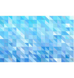 mosaic light blue background vector image