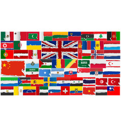 Set flags all countries in vector