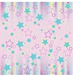 Pattern modern style delicate color vector image