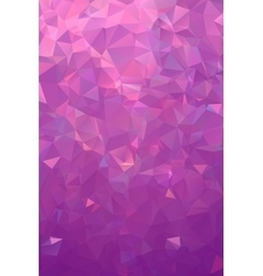 Abstract polygonal plum geometric background Low vector image