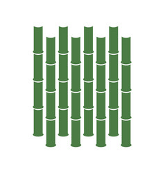 bamboo graphic design template isolated vector image