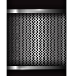 Dark chrome steel abstract background eps10 003 vector image