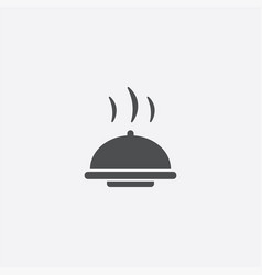 Dish icon vector