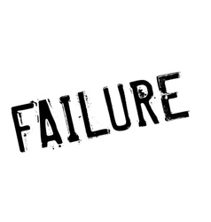 Failure rubber stamp vector