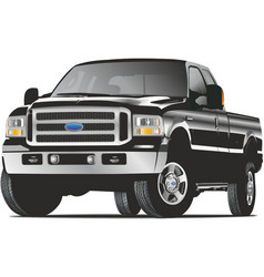 Ford truck vector