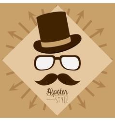 Hypster style design vector