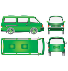 mini the bus vector image