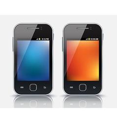 Mobile phones eps 10 vector
