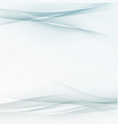 transparent abstract swoosh wave lines folder vector image