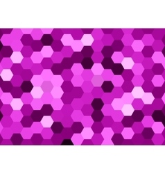 Purple Hexagon Abstract Background vector image