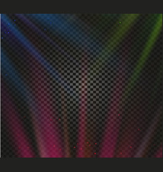 Shining colorful light effects glowing vector