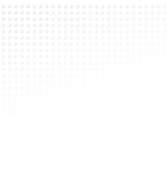 abstract halftone of gray polka dots on white vector image