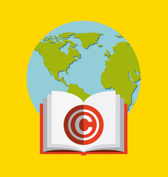 copyright concept desi vector image