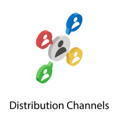 Distribution channel vector