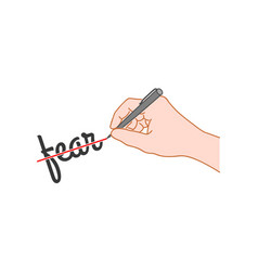 Hand drawn style vector