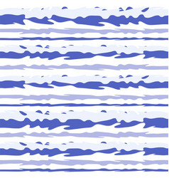 striped marine seamless pattern image vector image