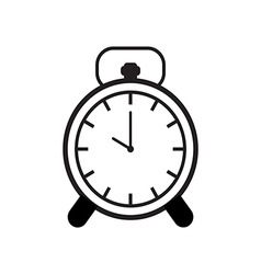 Time Alarm Clock Icon vector