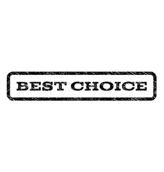 Best choice watermark stamp vector