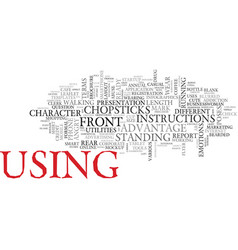 Use word cloud concept vector