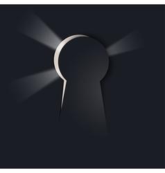 Keyhole background vector