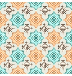 Boho style seamless pattern design vector