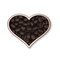 love coffee vector image