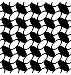 Monochrome repeating geometrical pattern vector