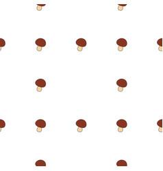 mushroom hand drawn on white background hand vector image
