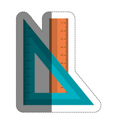 Rulers icon image vector