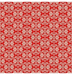 Seamless pattern with ornament in Chinese style vector