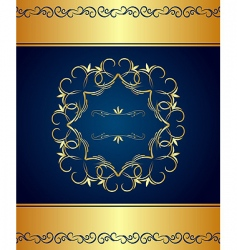 vintage border and frame vector image vector image