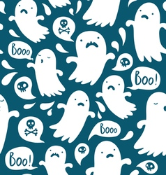 Ghost pattern vector image vector image