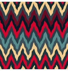 Seamless Red Tan Navy Blue Colors Rough vector image