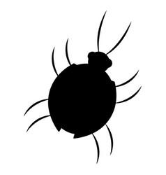 Virus bug hacking computer software vector