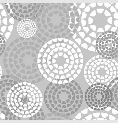 Abstract geometric pattern the points circles vector