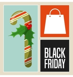 black friday vector image