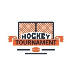 Hockey label vector