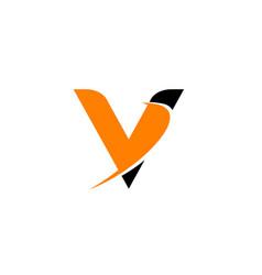 Letter v logo icon design template elements vector