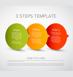 one two three - tags with step numbers vector image